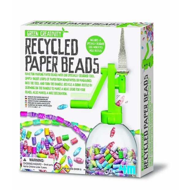 4M Green Creativity Recycle Paper Beads