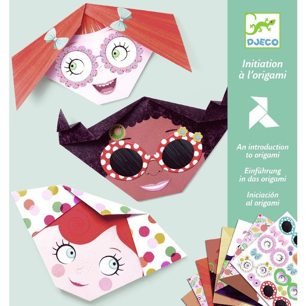 Djeco An Introduction To Origami Pretty Faces