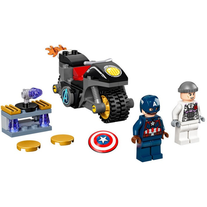 LEGO Marvel 76189 Captain America and Hydra Face-Off
