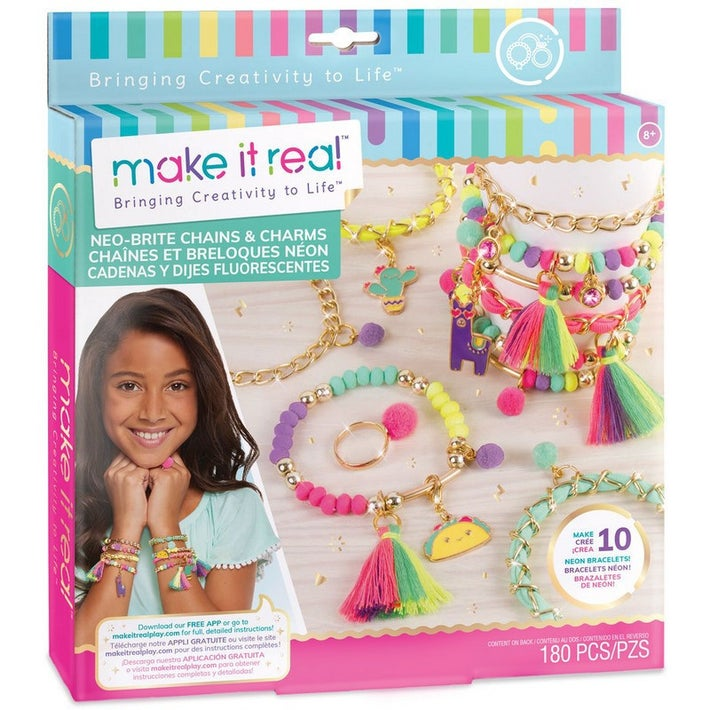 Make it Real Neo-Brite Chains and Charms