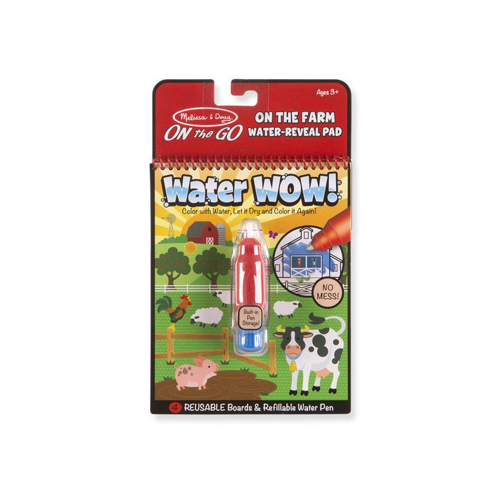 Melissa & Doug Water Wow On the Farm Water Reveal Pad