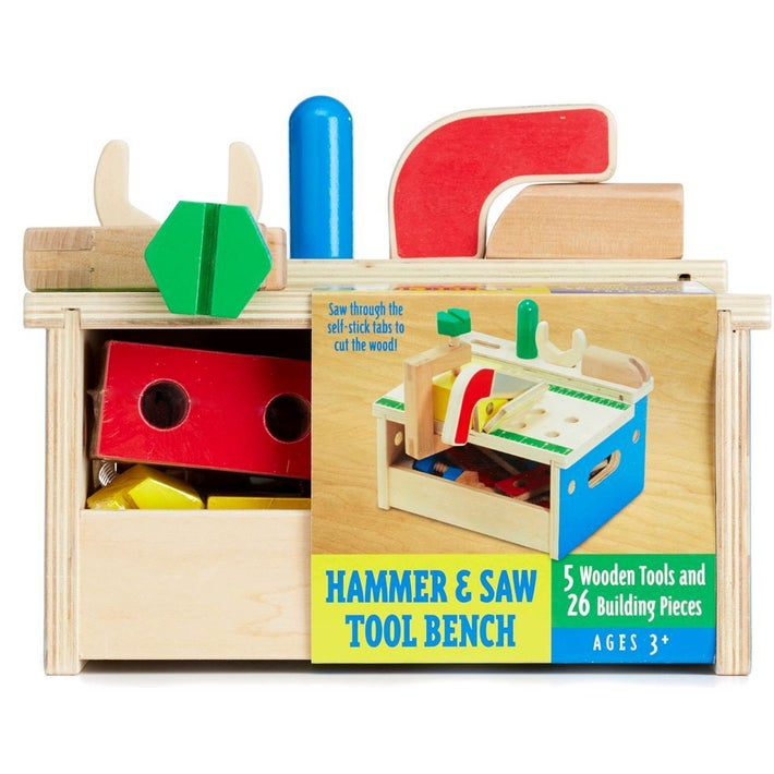 Melissa & Dough Hammer and Saw Tool Bench