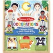 Melissa & Doug Magnetic Dress-Up Playset Occupations